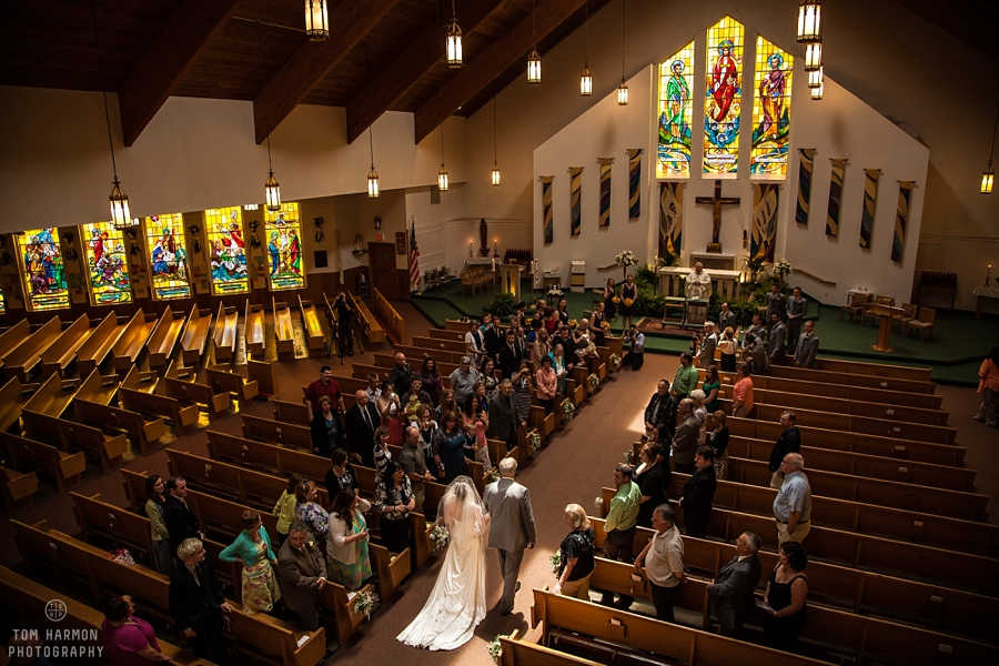 St. Paul's Church wedding