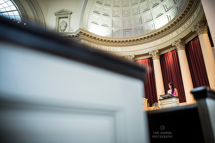 Wedding at Hendricks Chapel