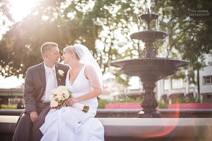 wedding pictures in Fordham Park