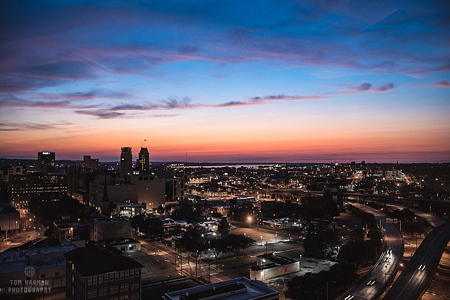 Syracuse from Crowne Plaza Hotel