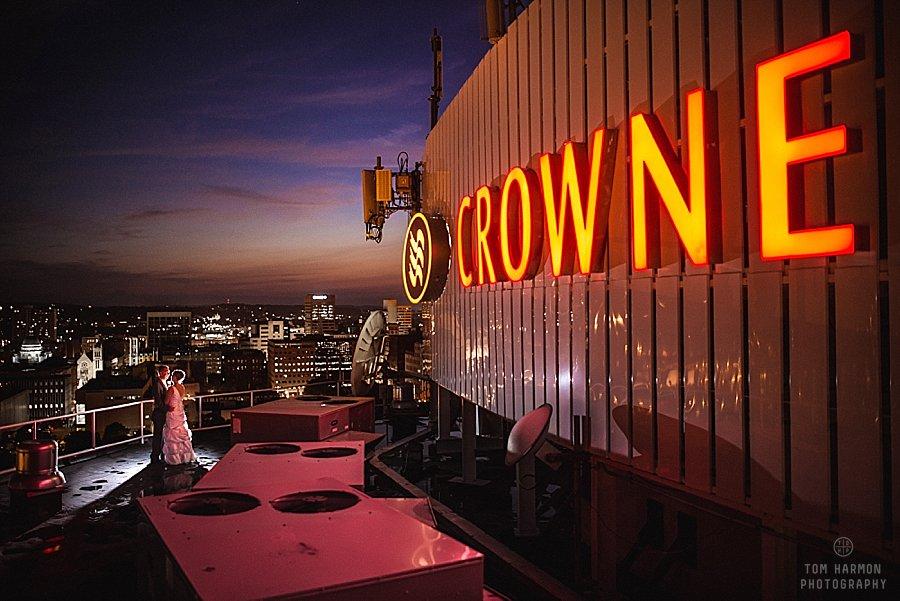 Crowne Plaza Hotel wedding