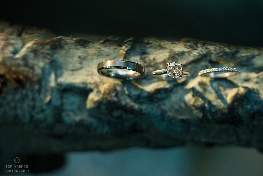 wedding rings at the lodge at welch allyn