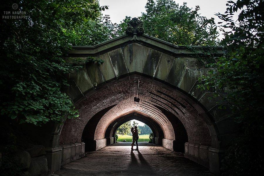 Prospect park engagement pictures