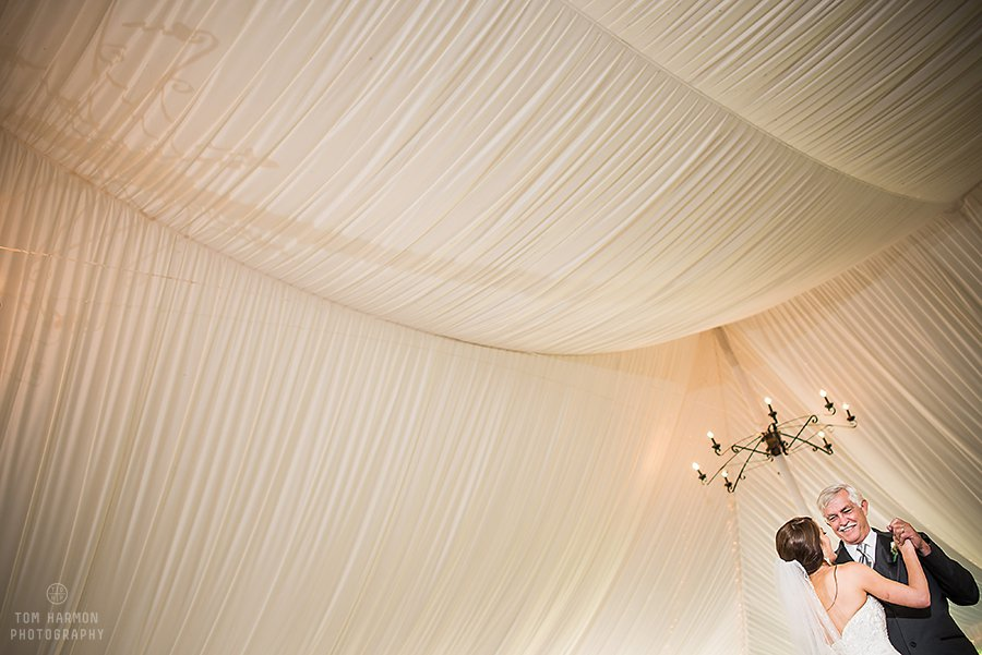Crossed Keys Inn wedding tent