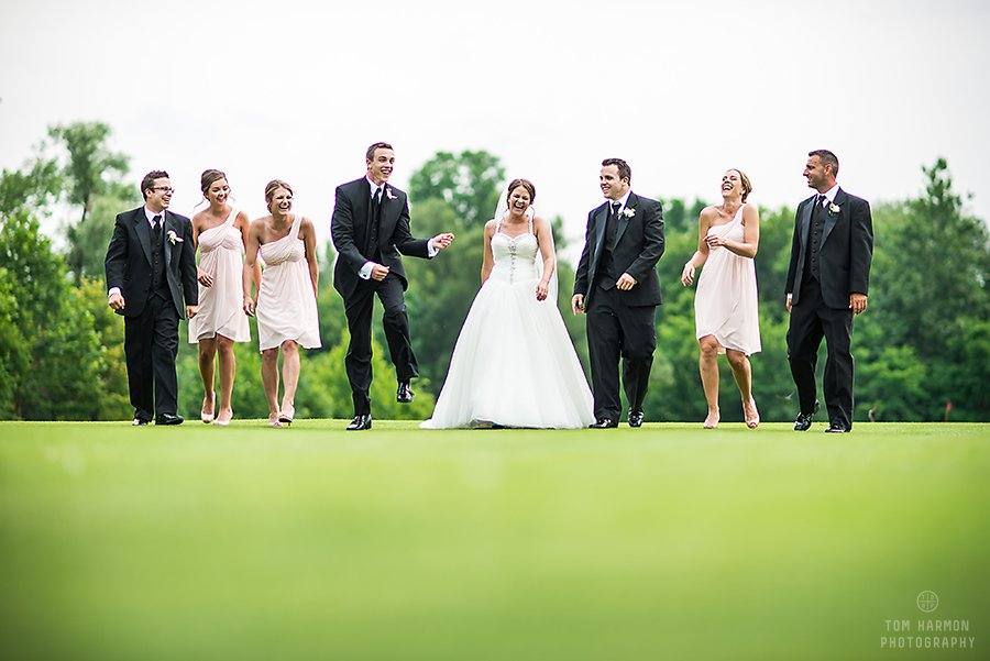 bridal pictures at the links at erie village