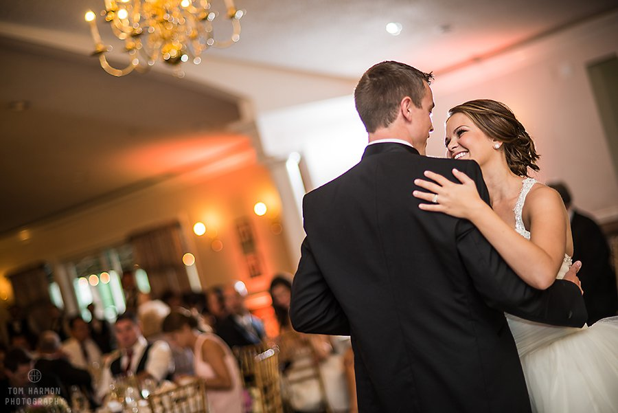first dance at links of erie village