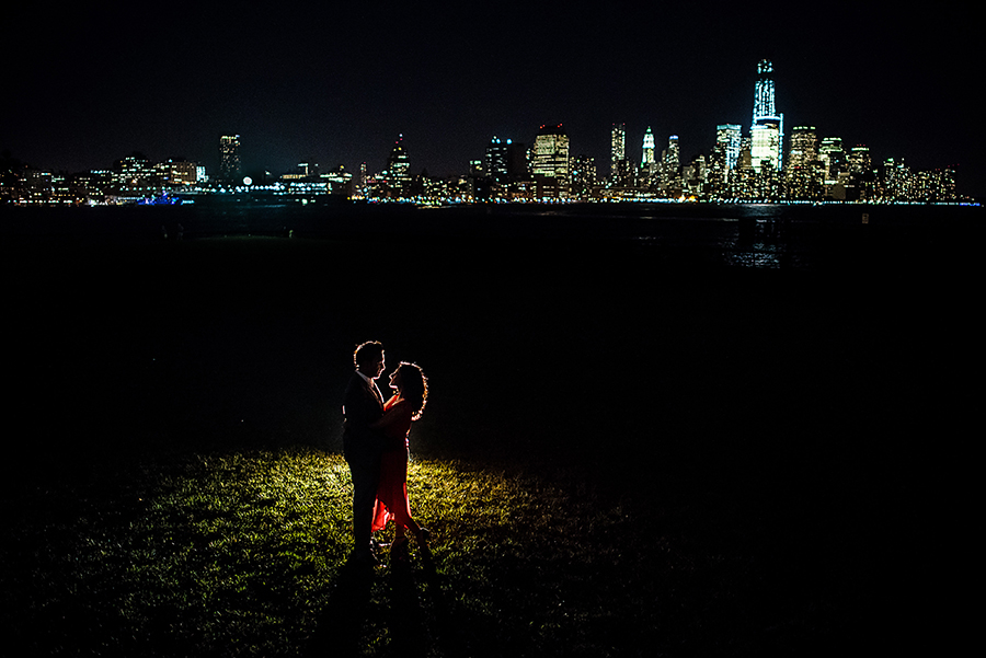 Hoboken Park engagement pictures