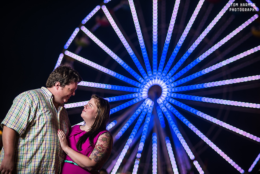 state fair engagement pictures