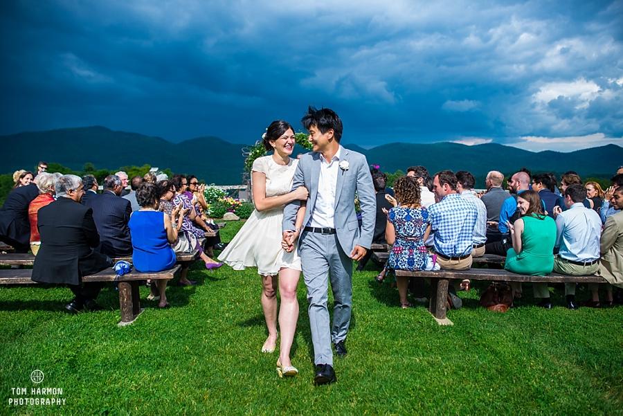 mountain top inn ceremony