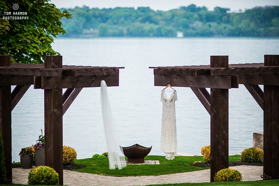 Skaneateles lake wedding