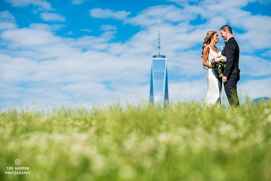 bride groom freedom tower