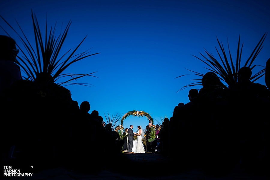 wedding ceremony at ballyowen golf club