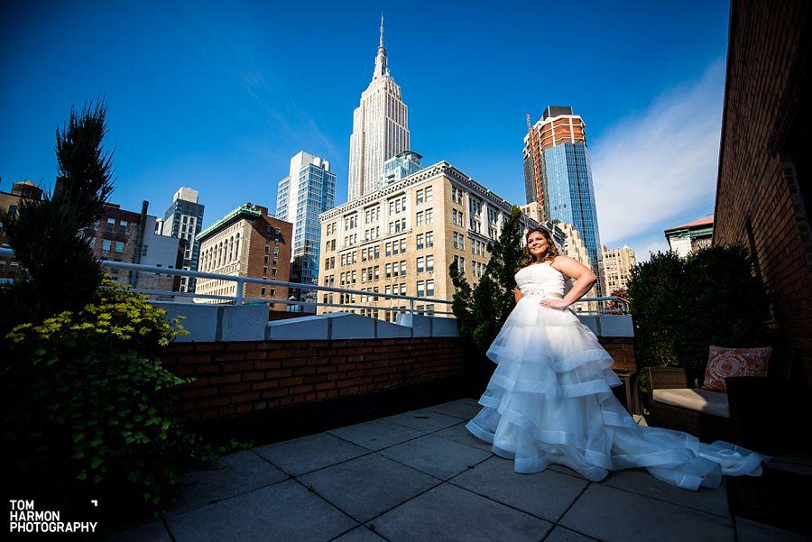 empire state building bride