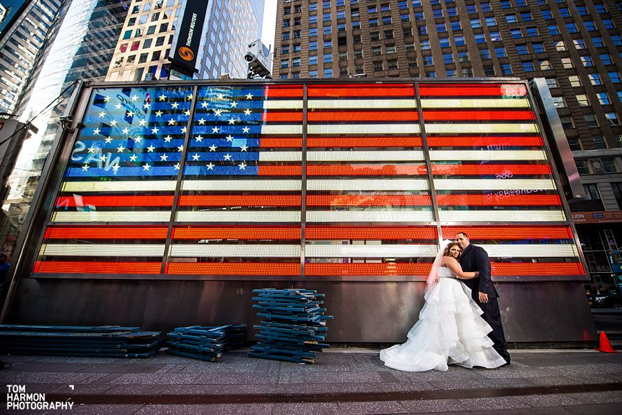 time square wedding
