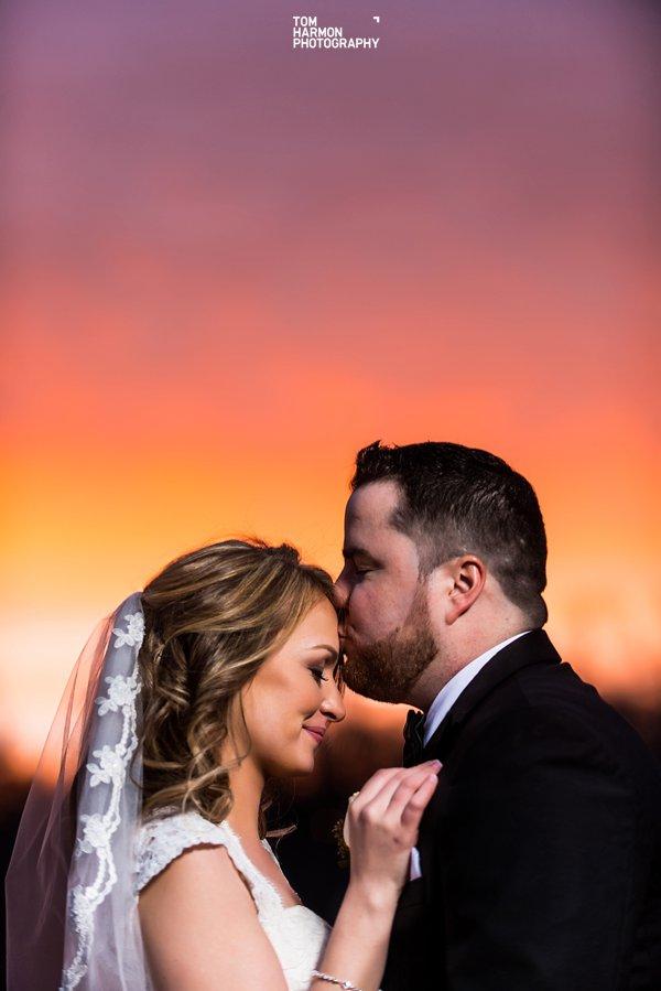wedding couple at piermont pier