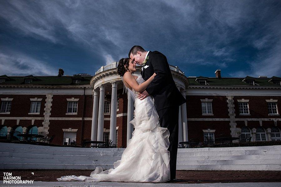 bride groom bourne mansion