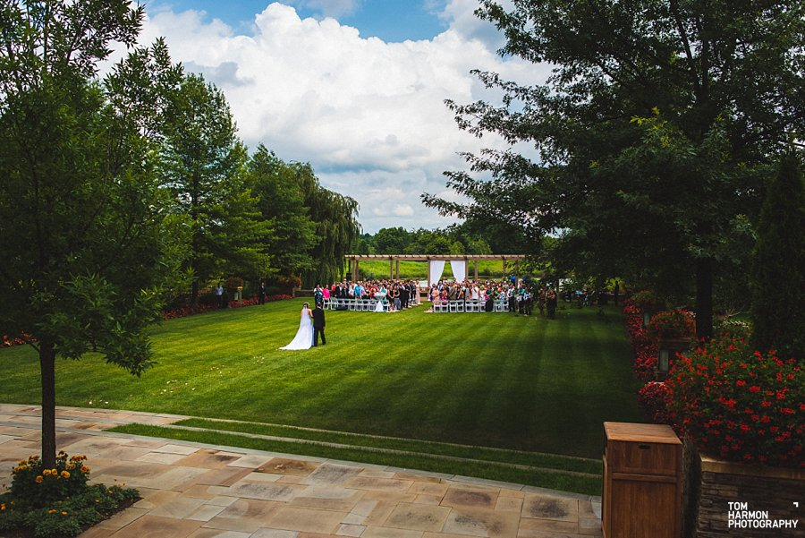 turning stone resort wedding