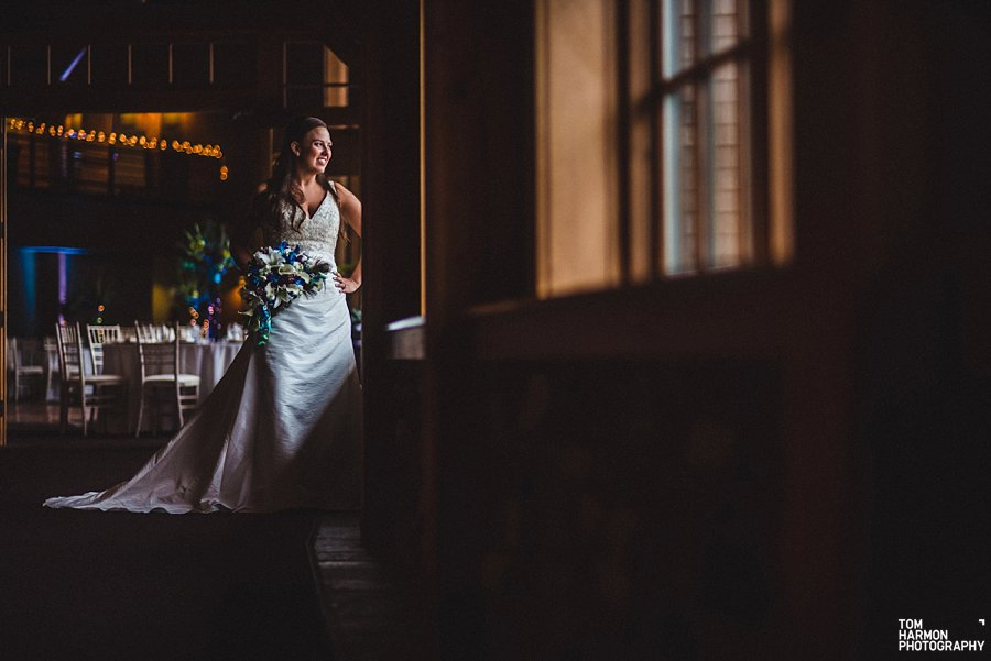 bride at welch ally lodge