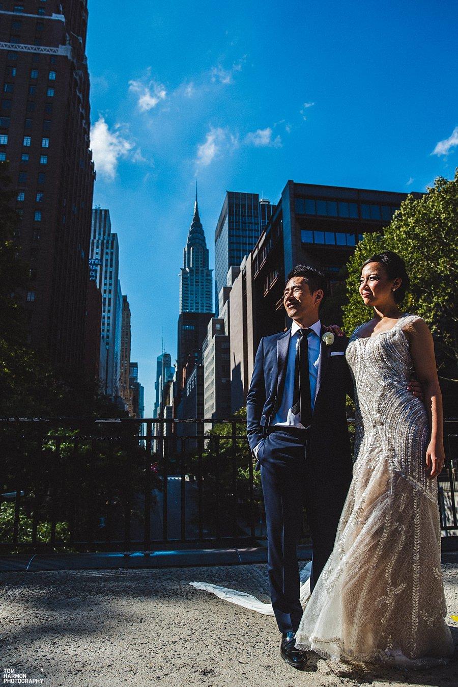 chrysler building wedding