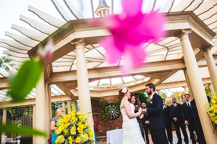 the manor wedding ceremony