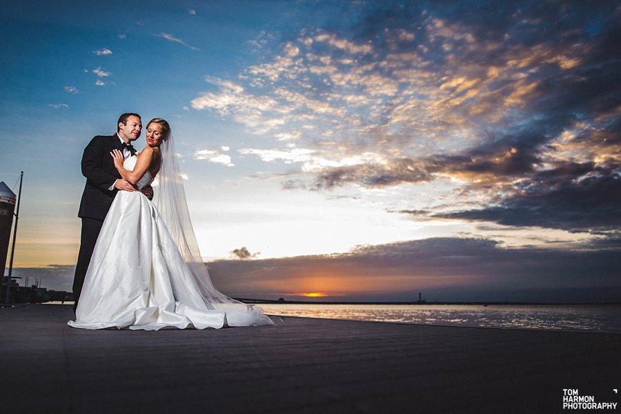 ocean city yacht club wedding