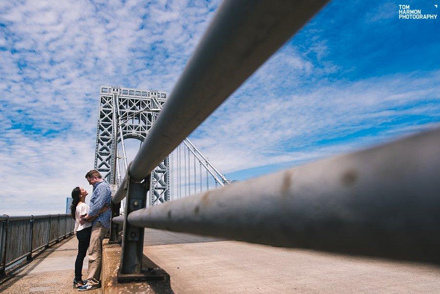 george washington bridge engagement