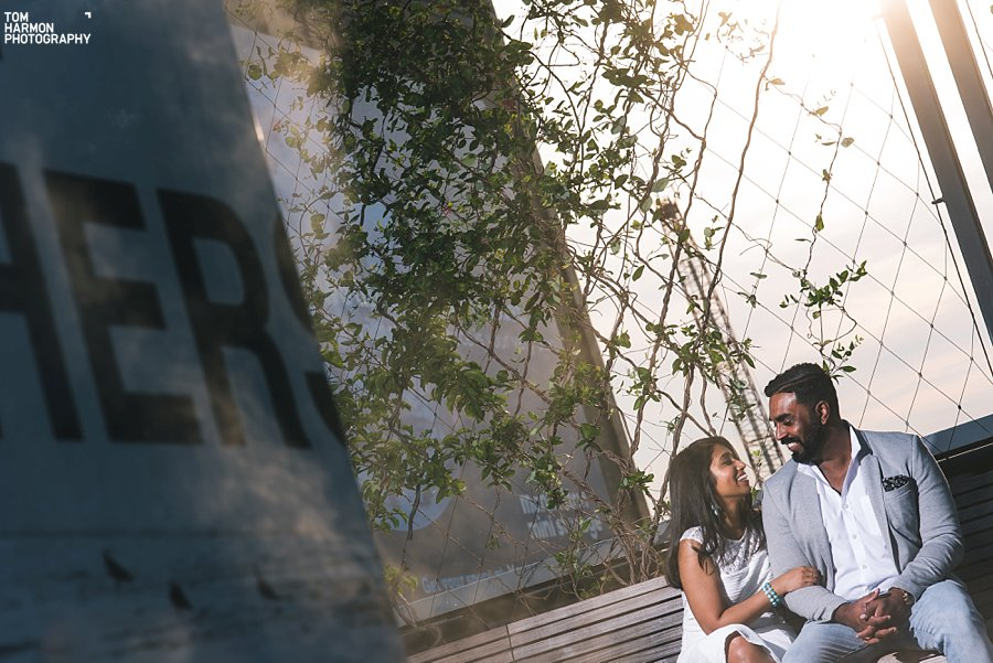 engagement in highline park