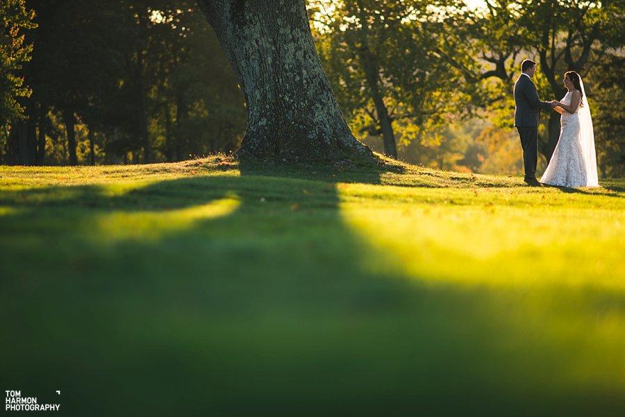montclair golf club wedding
