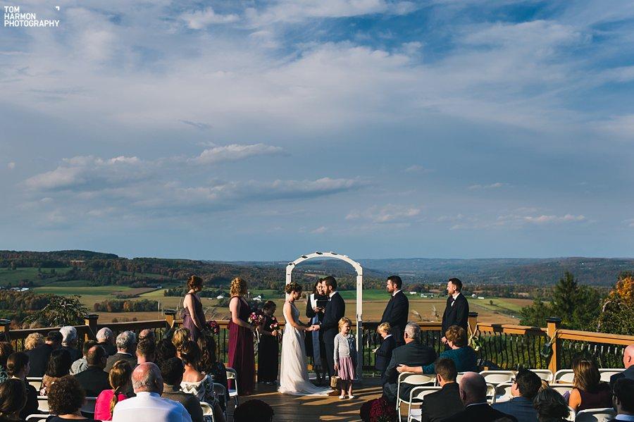 skyline lodge wedding