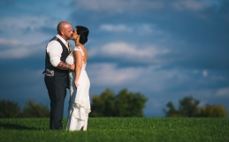 Maria and Tom's Hayloft On The Arch Wedding.