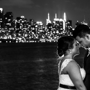 Jennifer and Michael's Waterside Restaurant Wedding Was On The Side Of Water…Duh