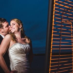 KC and Chris's Glen Island Harbor Club Wedding Held On To The Last Bit of Autumn.
