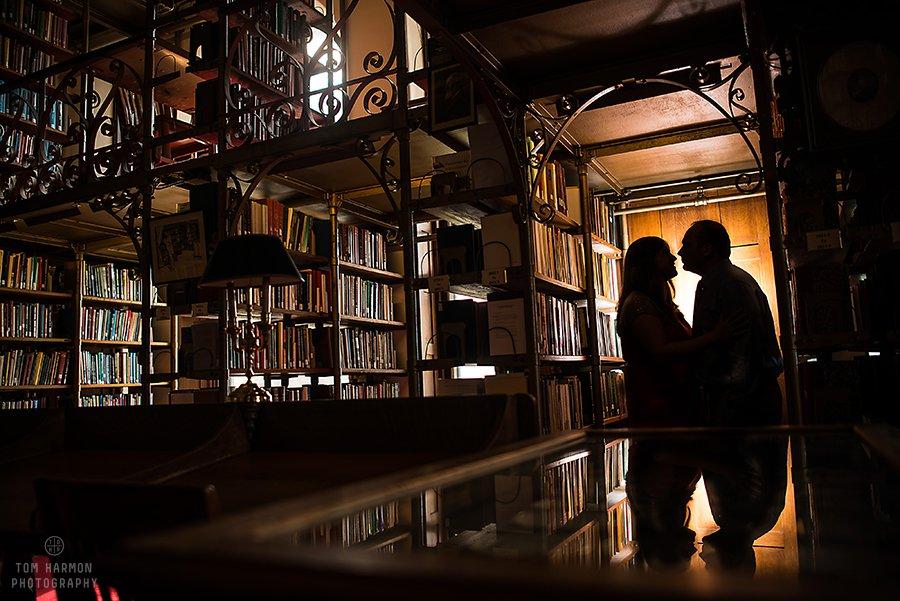 engagment at Uris Library
