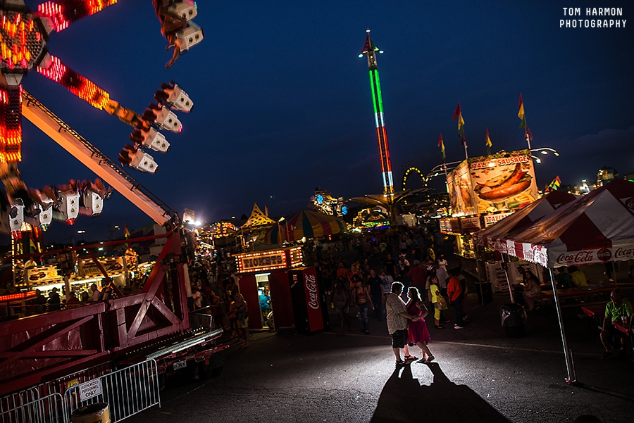 engagement photos at the new york state fair