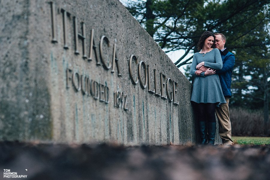 ithaca college engagement