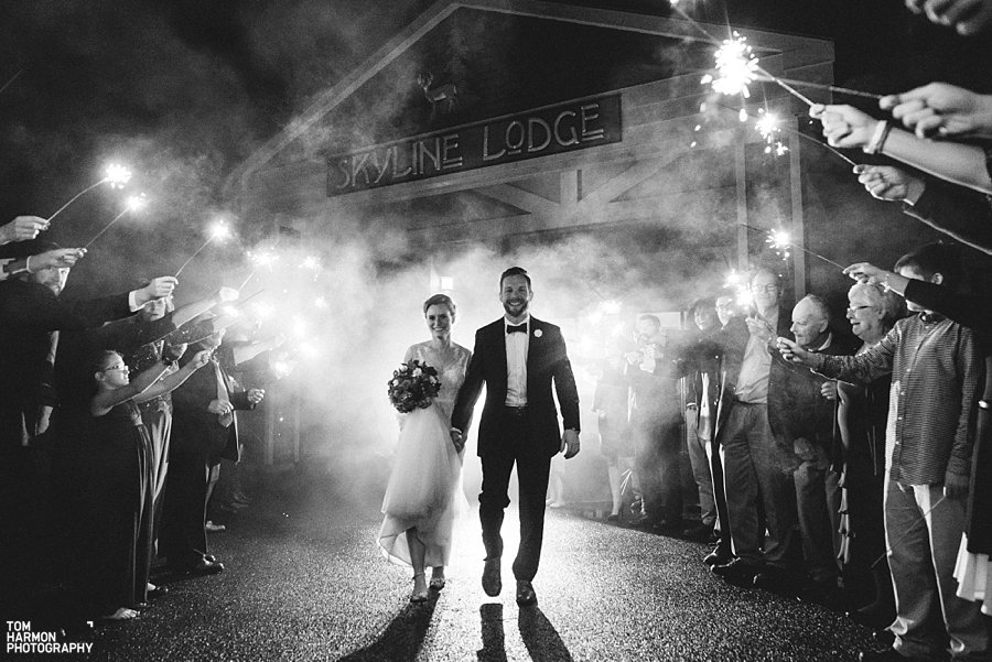 skyline lodge wedding