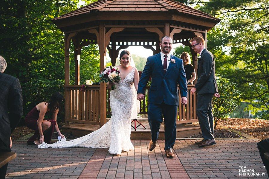 pavilion on crystal lake wedding