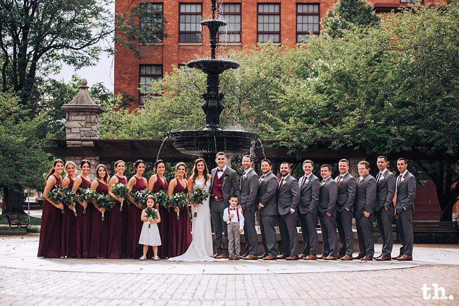 franklin square wedding