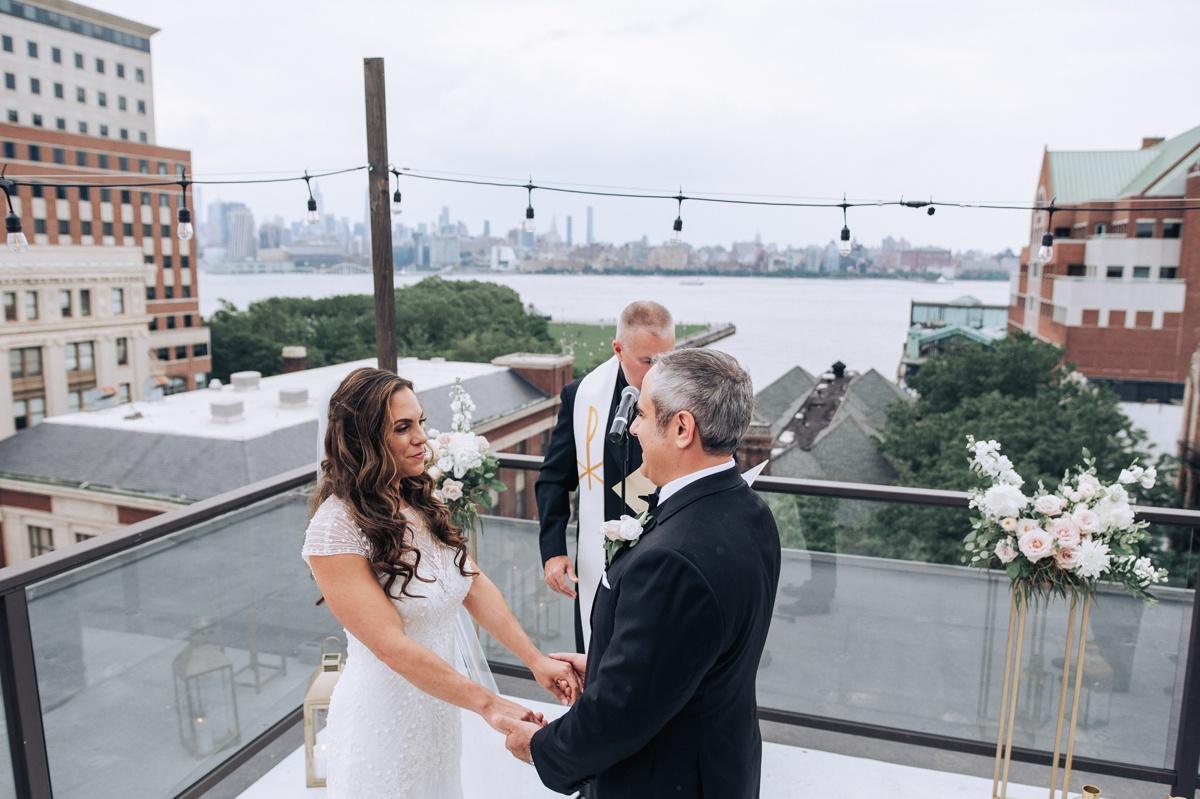Hoboken wedding antique loft