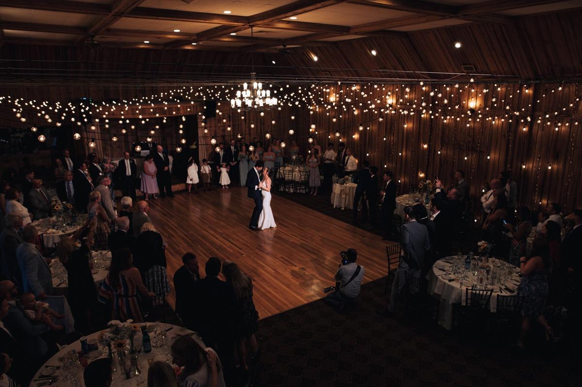 pavilion at crystal lake wedding