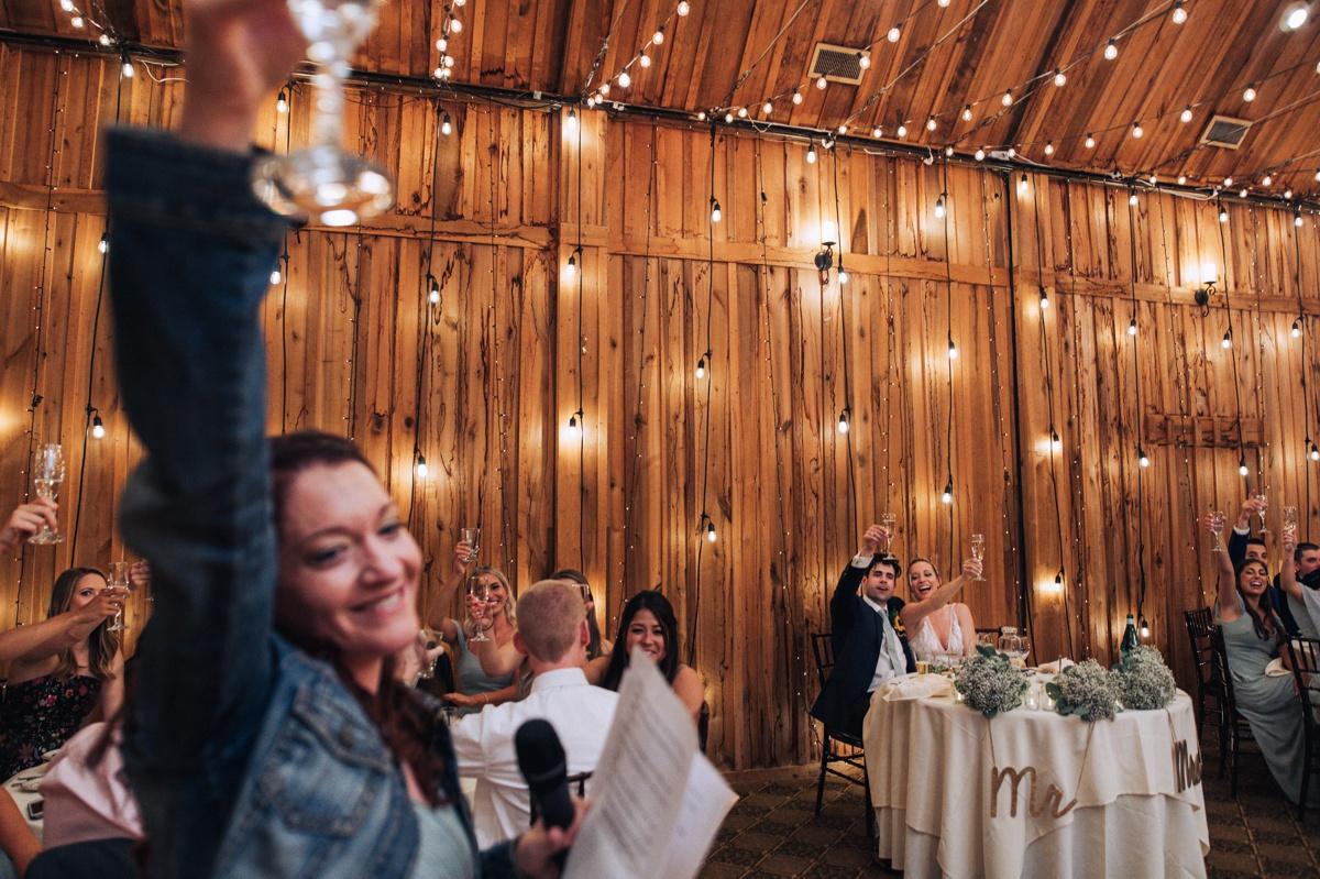 wedding at pavilion at Crystal lake
