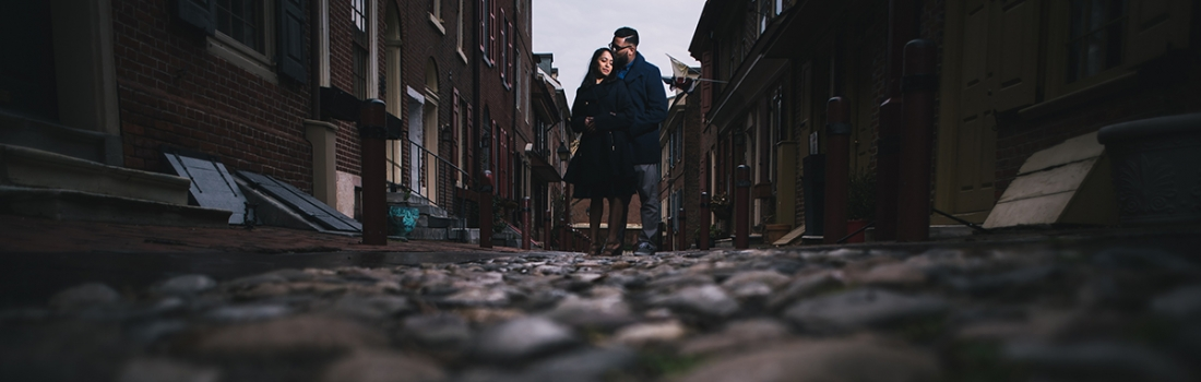 Nidhi and Kevin's Philadelphia Engagement.