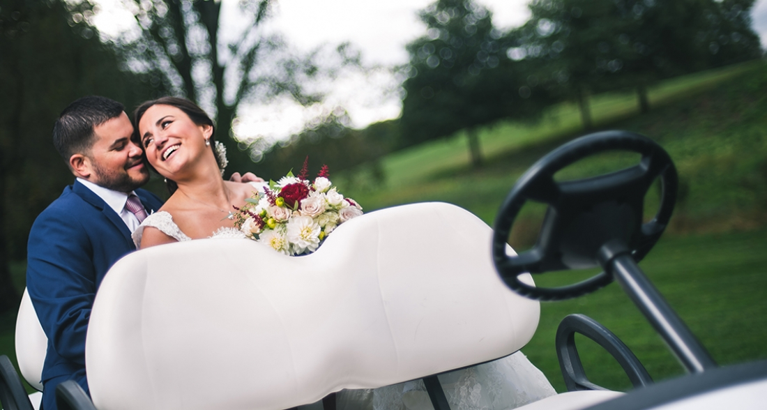 Cate and Kevin's West Hills Country Club Wedding.