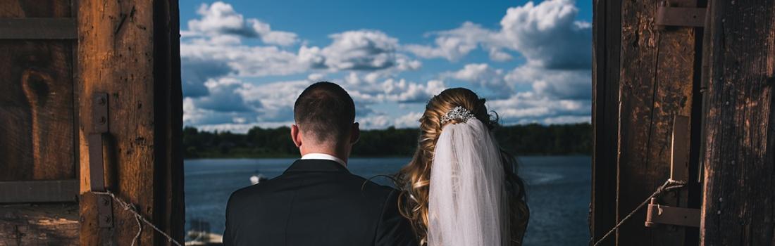 Jackie and Matt's Waterview Wedding.