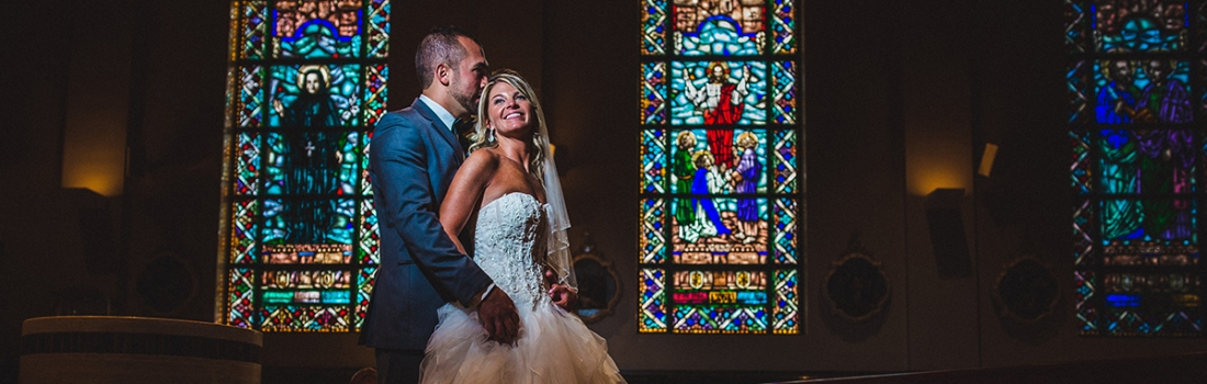 Jessica and John's The Addison Park Wedding Would Make Meatloaf Proud.