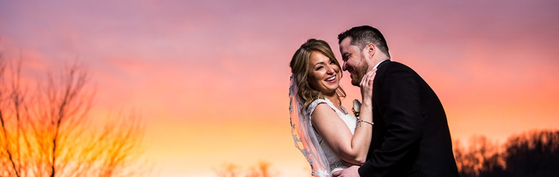 Katie and Noel Are Brave Souls. A Cold Rockleigh Country Club Wedding.