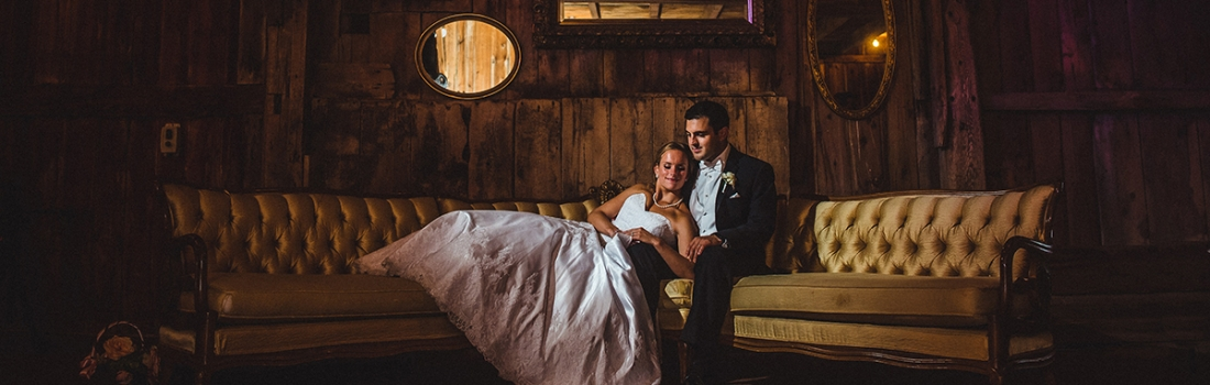 Emily and Peter's Hayloft on the Arch Wedding Was Like Being At Summer Camp.