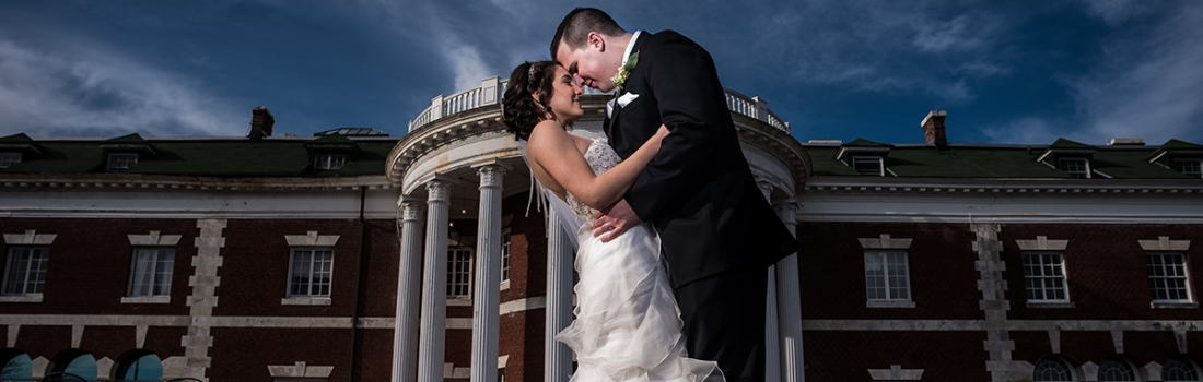 Anne Marie and Domenick's Bourne Mansion Wedding Was Classy. Really Classy.