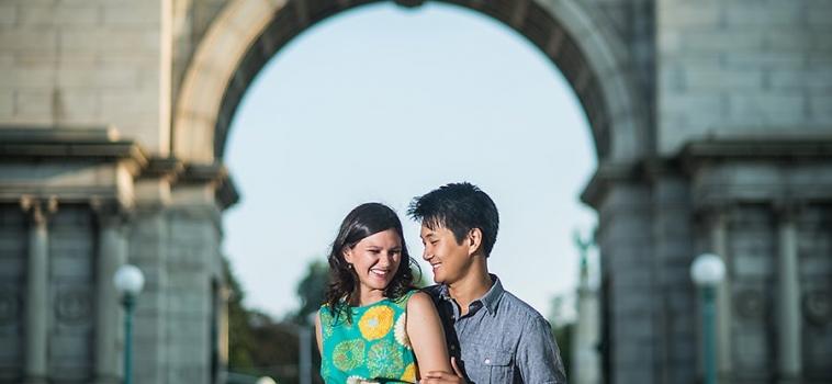 A Brooklyn Engagement   NJ Wedding Photographer