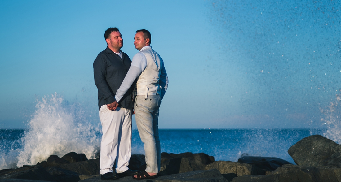 Larry and Jeremy's Ocean Place Resort Wedding.